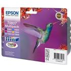 Epson T0807 Ink Cartridge Multipack