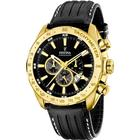 Festina Gold Chrono Leather F16879/4