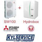 Mitsubishi SW100 Split + Hydrobox