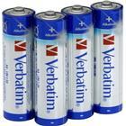 4-Pack AA Verbatim Högkvalitétsbatterier