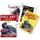 Gibsons Games Piatnik Rail Art playing cards (single deck)