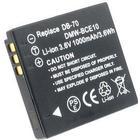 Panasonic Batteri till Ricoh R10, 3.6V (3.7V) V, 1000 mAh
