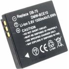 Ricoh DB-70 (Ricoh Caplio R6) ersättningsbatteri