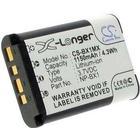 Sony Batteri till Sony HDR-AS30, 3.6V (3.7V), 1150 mAh