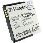 Samsung Batteri till Samsung SM-G3815, 3.6V (3.7V), 2100 mAh