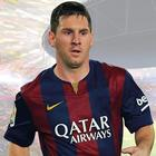 Tapetdeko Messi Wallstickers
