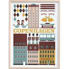 Ferm Living Copenhagen 50x70cm Affisch