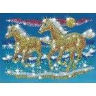 KSG Sequin Art and Beads Horses