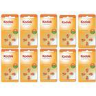 Kodak 40st Batterier till hörapparat 13, A13, Orange