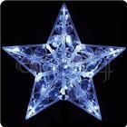 FDL Pyntestjerne 30 cm med krystal-look