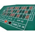 Rouletteduk gummi - Grön