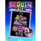 sequin art Cake Stand Craft