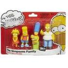 The Simpsons Mini Collectables Family Pack