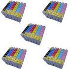 Prestige Cartridge Compatible Epson T0807 Printer Ink Cartridges - Black/Cyan/Magenta/Yellow/Light Cyan/Light Magenta (Pack of 30)