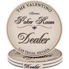 Valentino Poker Room dealer button