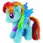 Ty UK Ltd Ty UK 7-inch My Little Pony Rainbow Dash Beanie