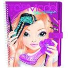 Top Model Shoe Designer Colouring Book