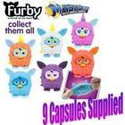 Mashems Capsules - 9 Pack Mashems Furby **9 UNITS**