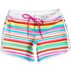 ROXY Simning shorts i ränder från Roxy