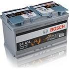 BOSCH Bilbatteri Bilbatteri AGM 12V 80 Ah Bosch S6011 S5A11 DIN: 580901080