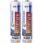 Conrad energy Laddbart batteri R03 (AAA) NiMH Conrad energy HR03 700 mAh 1.2 V 2 st