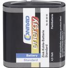 Conrad energy Batteri 3R12 Zink-kol Conrad energy 3LR12 2000 mAh 4.5 V 1 st