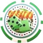 Casino Dice Grn (25-pack)