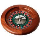 Dal Negro Roulettehjul 36 cm i Mahogny