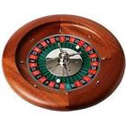 Dal Negro Roulettehjul 50 cm i Mahogny