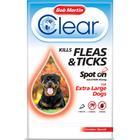 Bob Martin Flea Clear Spot On Dog Extra Large Dog 1 Tube