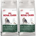 Royal Canin Health Nutrition Outdoor +7 Cat Food 10kg x 2