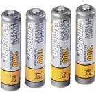 Camelion Laddbart batteri R03 (AAA) NiMH Camelion HR03 1100 mAh 1.2 V 4 st