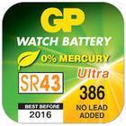 GP Batteri Silveroxid GP SR43W 38