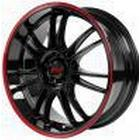 Dotz Shift Pinstripe red 8x18 5/120 ET35 B72,6