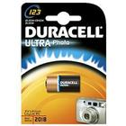 Batteri Duracell 123A Ultra för digitalkamera 3V Lithium CR17345