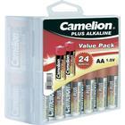 Camelion Batteri R6 (AA) Alkaliskt Camelion LR06 2800 mAh 1.5 V 24 st