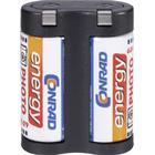 Conrad energy Fotobatteri 2CR5 Litium Conrad energy 2 CR 5 1400 mAh 6 V 1 st