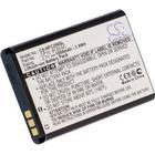 . Batteri till Sigmatel FXD 6100, 3.7V (3.6V), 1050 mAh