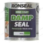 Ronseal One Coat Damp Seal Paint 2.5L White