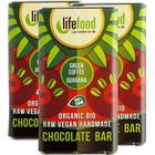 lifefood 3 x Lifefood Mini Chocolate - Grönt Kaffe + Guarana (3 x 15 g)