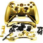 Mini in the Box Replacement Housing Case Cover for XBOX 360 Wireless Controller Golden