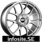 BBS CH R Brilliant Silver Stainless Steel Lip