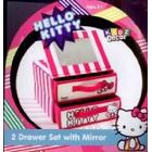 Vogue Hello Kitty Drawer Set with Mirror
