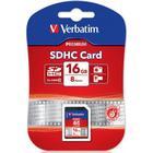 Verbatim minneskort, SDHC Class 10, 16GB