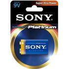 SONY Platinum batteri, 6LR61 (9V) Stamina PLATINUM, 1-pack