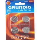Grundig, Lithium CR2016, 3V, 4 styk.
