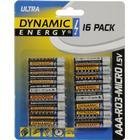 Ultra batterier, 16-paket, AAA-RO3-micro 1,5V