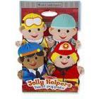 Melissa & Doug - 19086 - Jolly Helpers Hand Puppets