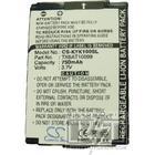 Kyocera KX12 batteri (750 mAh)