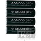 Garmin Eneloop pro 4x AA battery (2500 mAh)